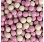 Roze/Wit Ricecrisp 400gr gechoc