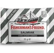Fisherman's Friend Fisherman Sv Salmiak Zwart/Wit -doos 24 stuks
