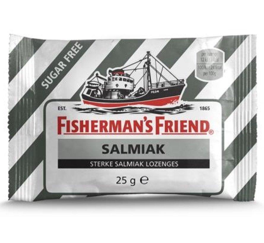 Fisherman Suikervrij Salmiak Zwart/Wit