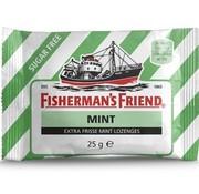 Fisherman's Friend Fisherman Sv groen/Wit Mint -doos 24 stuks