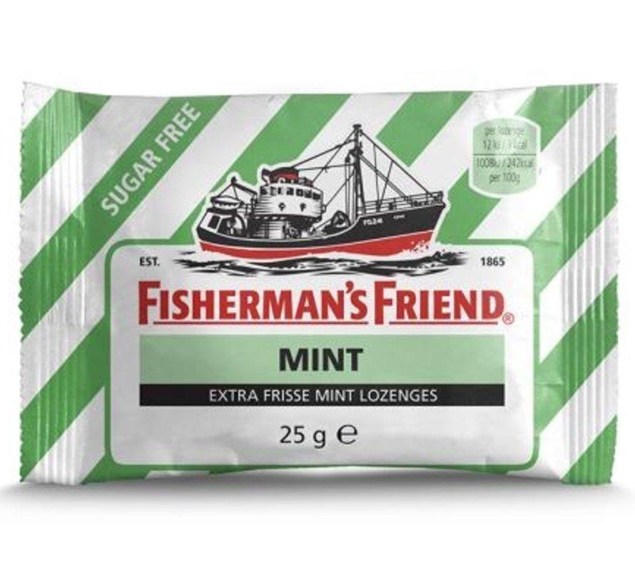Fisherman groen/Wit Mint Suikervrij