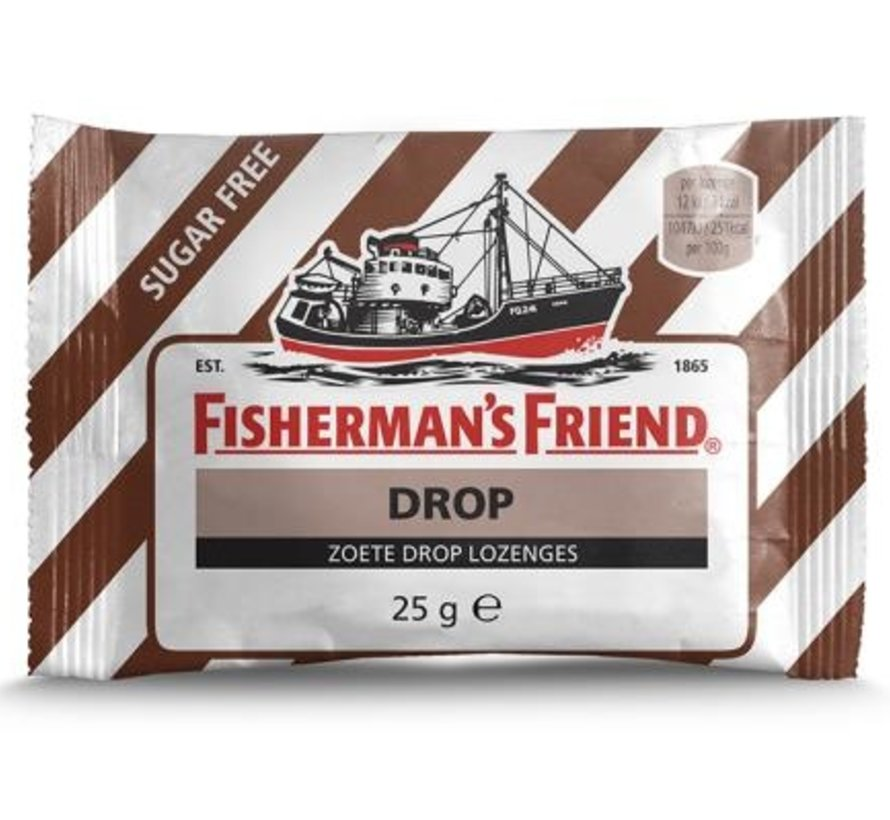 Fisherman Suikervrij Zoete Drop