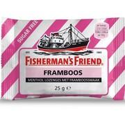 Fisherman's Friend Fisherman Framboos SUIKERVRIJ -Doos 24 stuks