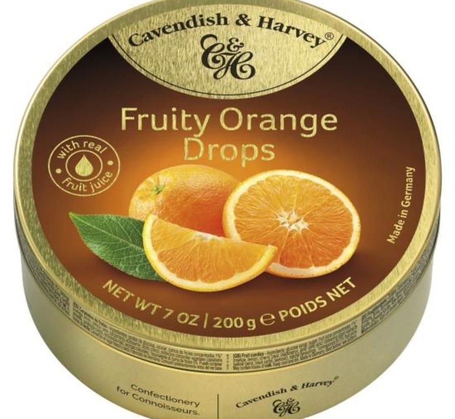Fruity Orange Drops -Doos 9 stuks