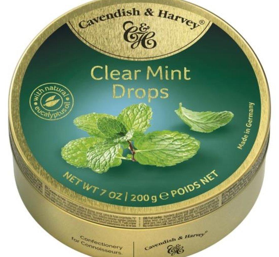 Clear Mint Drops -Doos 9 blikken