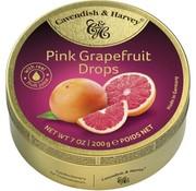 Cavendish & Harvey Pink Grapefruit Drops -Doos 9 blikken
