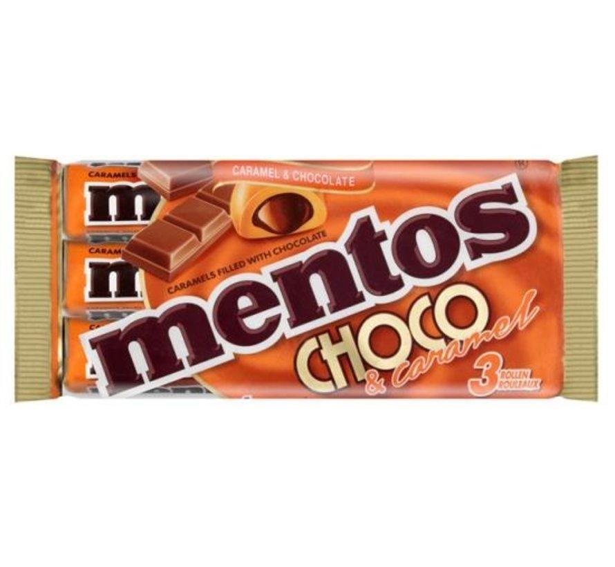 Mentos Choco&Caramel -Doos 25x3
