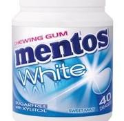 Mentos Suikervrije White Sweet Mint Kauwgom -6 potjes