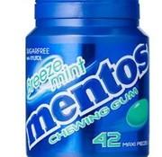 Mentos Suikervrije Breeze Mint Gum -6 potjes