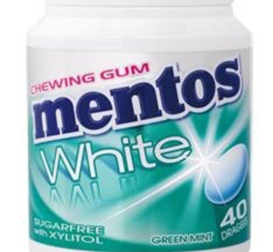 Mentos White Green Mint SUIKERVRIJ -6 potjes