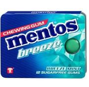 Mentos Suikervrije Breeze Mint Gum -12 blisters