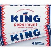 King 4-Pack Pepermunt rollen -Doos 24 stuks