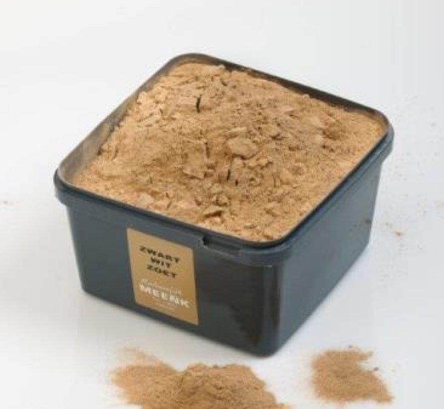Zwart Wit Zoet 2kg Plasticbak