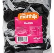 Matthijs Drop Giechels 400 gram -Doos 20 stuks