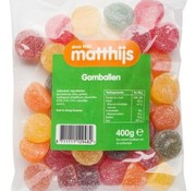 Matthijs Gomballen 400 gram -Doos 20 stuks