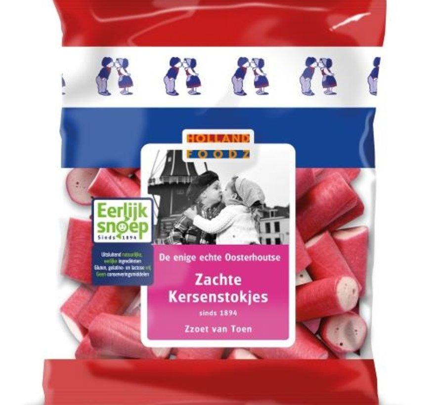 Roze Kersenstokjes 110 gram voorverpakt