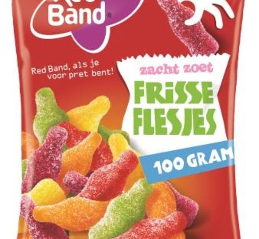 Frisse Flesjes -Doos 24x100 gram