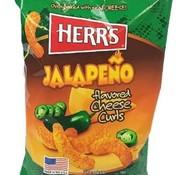 Herr's Food Inc Herr's Jalapeno Cheese Curls -Doos 12x199 gram