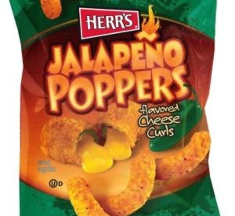 Herr's Jalapeno Curls (Poppers) -Doos 42x28gram