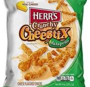 Herr's Food Inc Herr's Jalapeno Crunchy Cheestix -Doos 8x255 gram