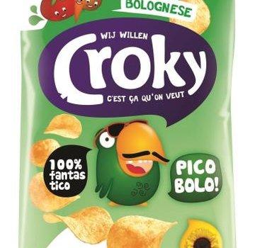 Croky Croky Chips Bolognese 40 gram -Doos 20 stuks