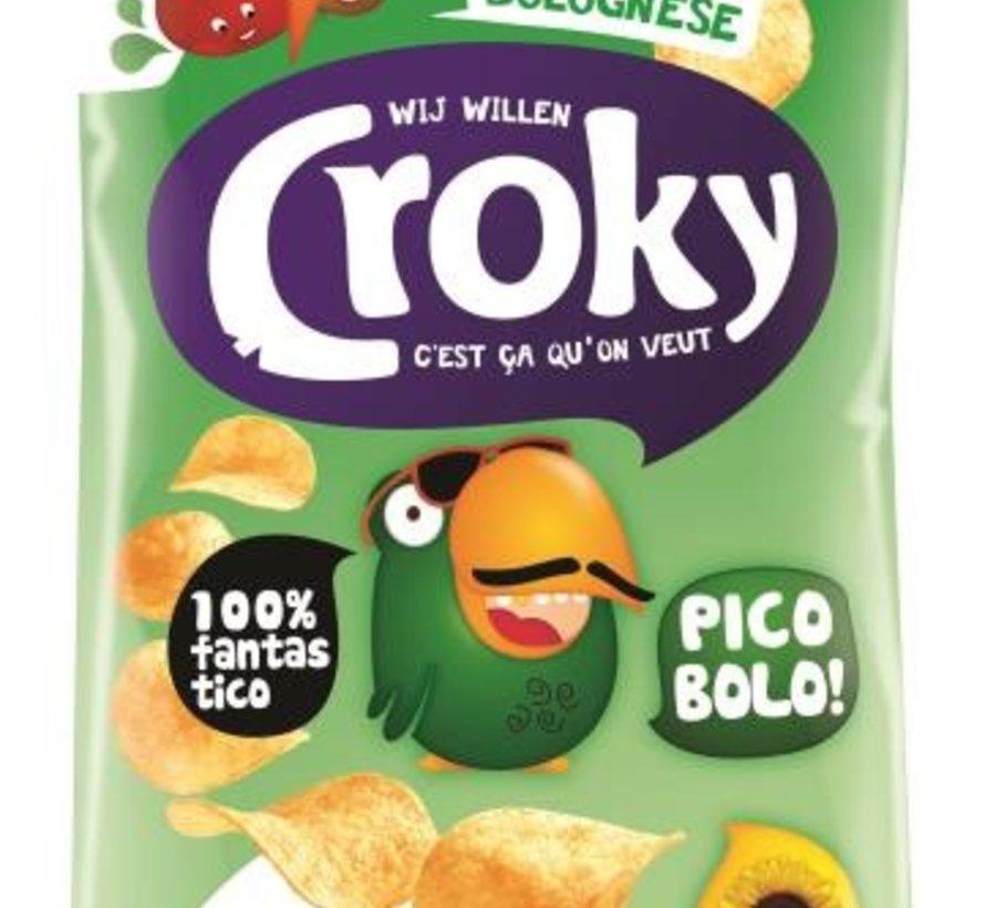 40gr Croky Chips Bolognese -Doos 20 stuks
