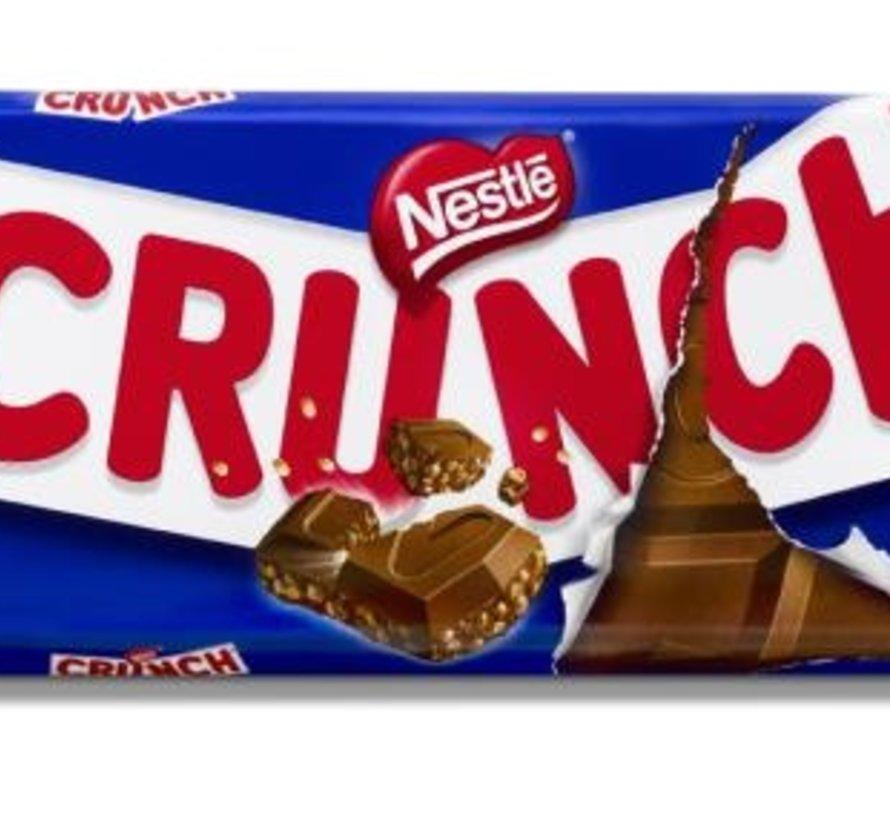 100gr Crunch Tablet Melk -Doos 20 stuks
