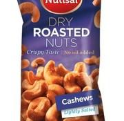 Nutisal Cashew Dry Roasted 60 gram -Doos 14 stuks