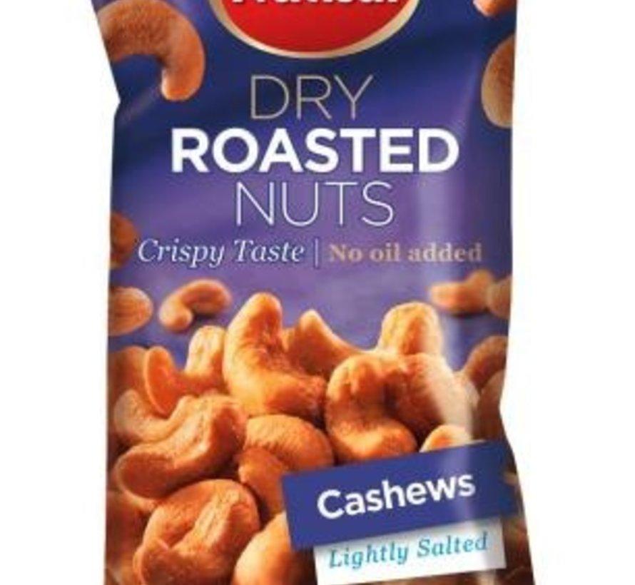 60gr Cashew Dry roasted  Salted -Doos 14 stuks