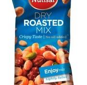 Nutisal Dry Roasted Enjoy Noten Mix 60 gram -Doos 14 stuks