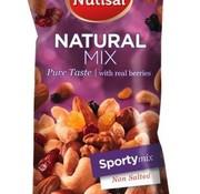 Nutisal Ongezouten Sporty Mix Naturel 60 gram -Doos 14 stuks