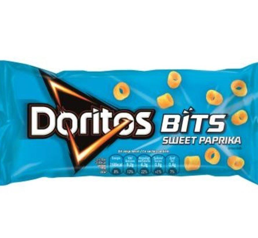 33gr Doritos Bits Blauw Paprik -Doos 30 stuks