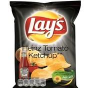 Lays Lays Chips Tomato Ketchup 40 gram -Doos 20 stuks