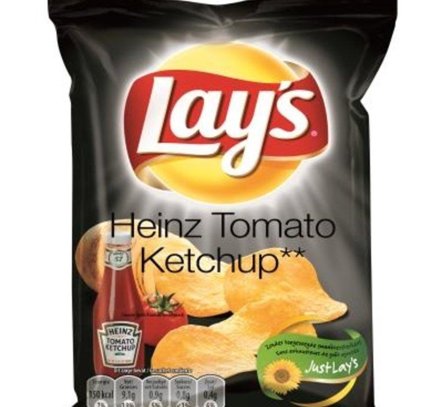 40gr Lays Chips Tomato Ketchup -Doos 20 stuks