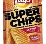 Lays Lays Lim Super Chips  Spicy Mayo -Doos 8 stuks