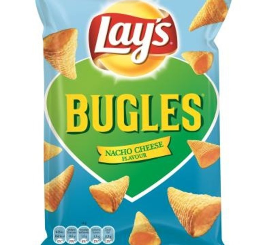 115gr Bugles Nacho Cheese -Doos 24 stuks