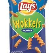 Lays Wokkels Paprika 100 gram -Doos 18 stuks