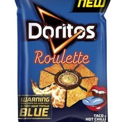 Doritos Doritos Roulet Blue Tong 170 gram-Doos 10 stuks