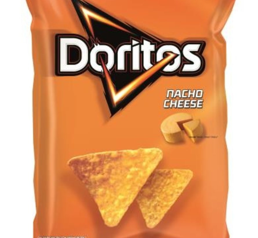 185gr Doritos Nacho Cheese-Doos 22 stuks