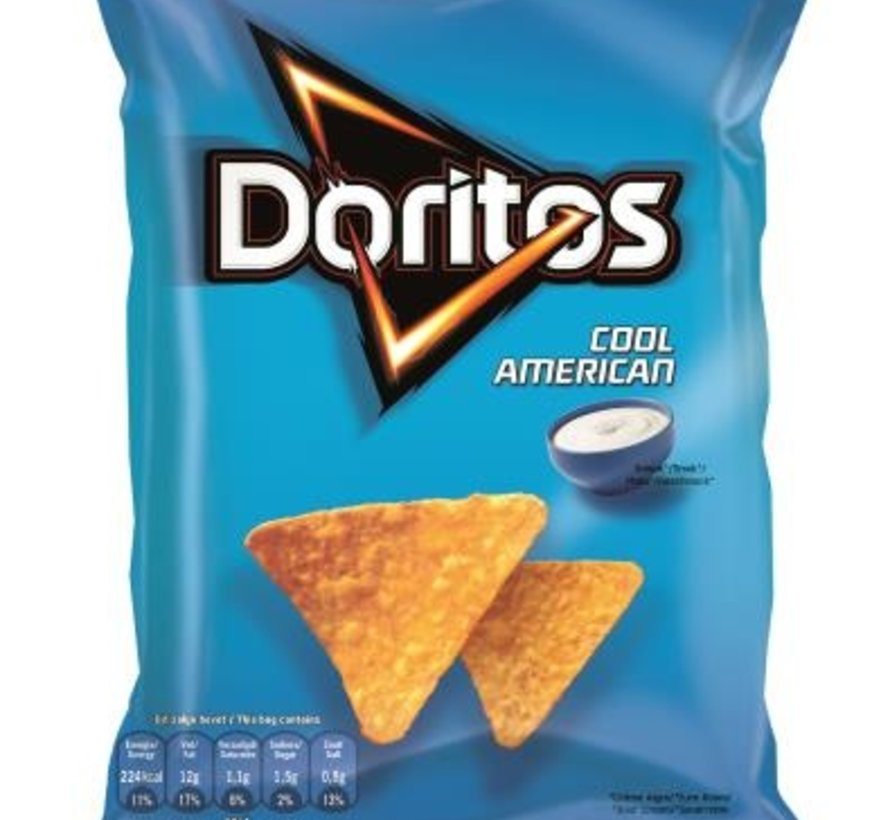 44gr Doritos Cool American -Doos 20 stuks