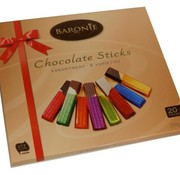 Baronie Chocolate Sticks Assortiment  8 Smaken- Doos 12 stuks