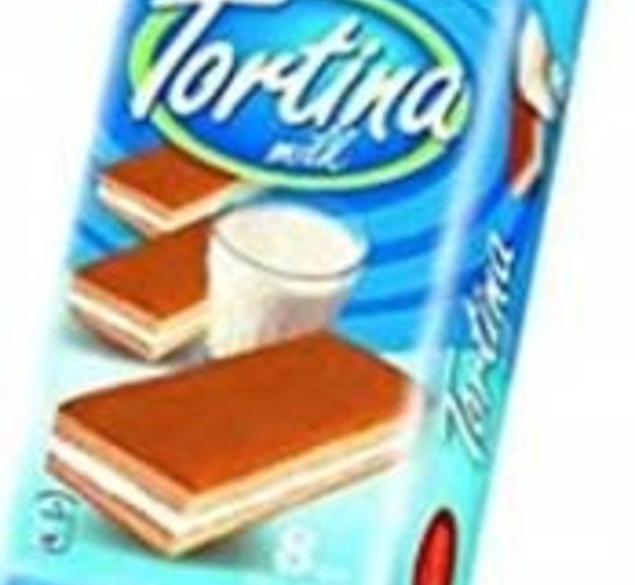 200gr Tortina Melk Cakejes -Doos 12 stuks