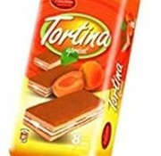 Tortina Abrikoos Cakejes -Doos 12 stuks