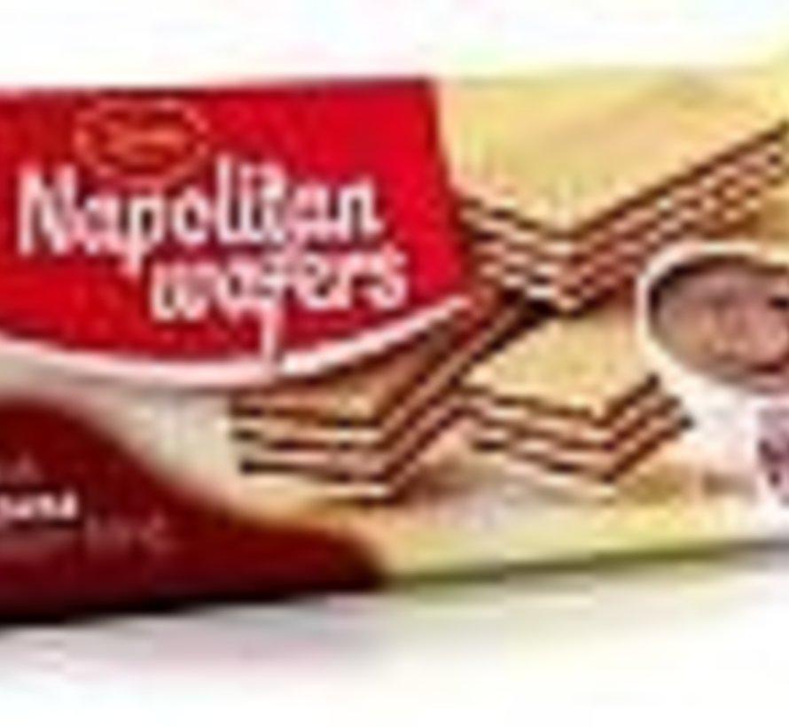160gr Kakao Wafels -Doos 20 stuks