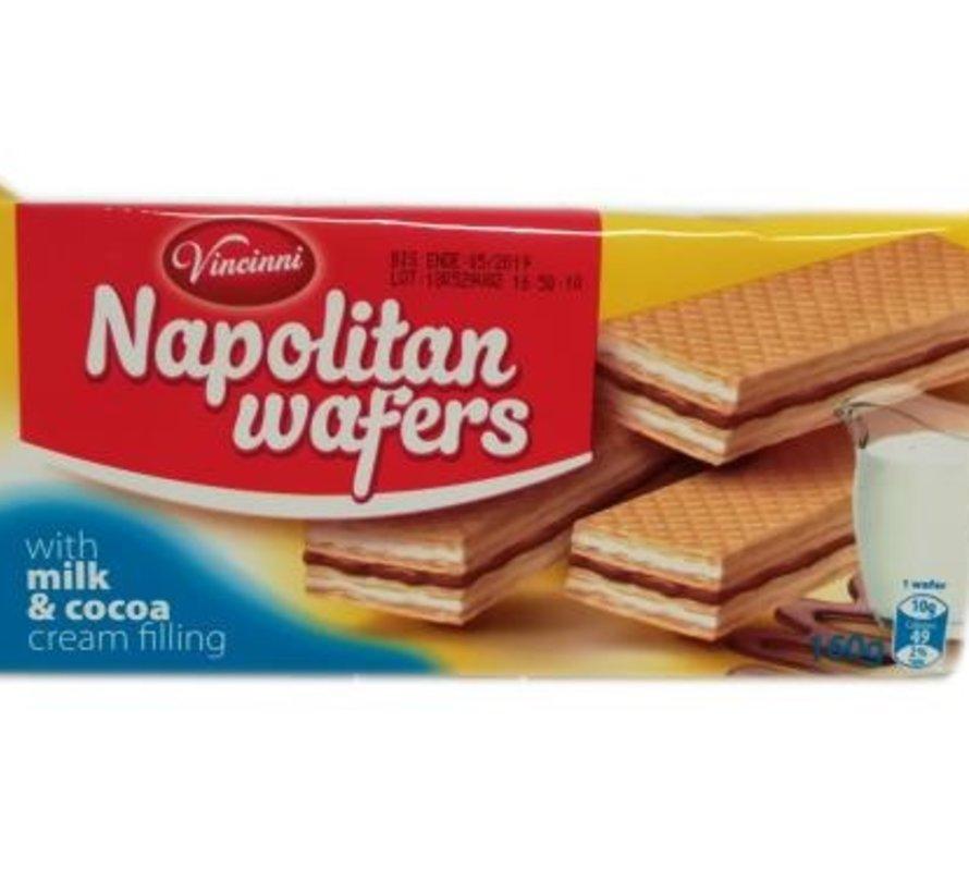 160gr Milch Kakao Wafels -Doos 20 stuks