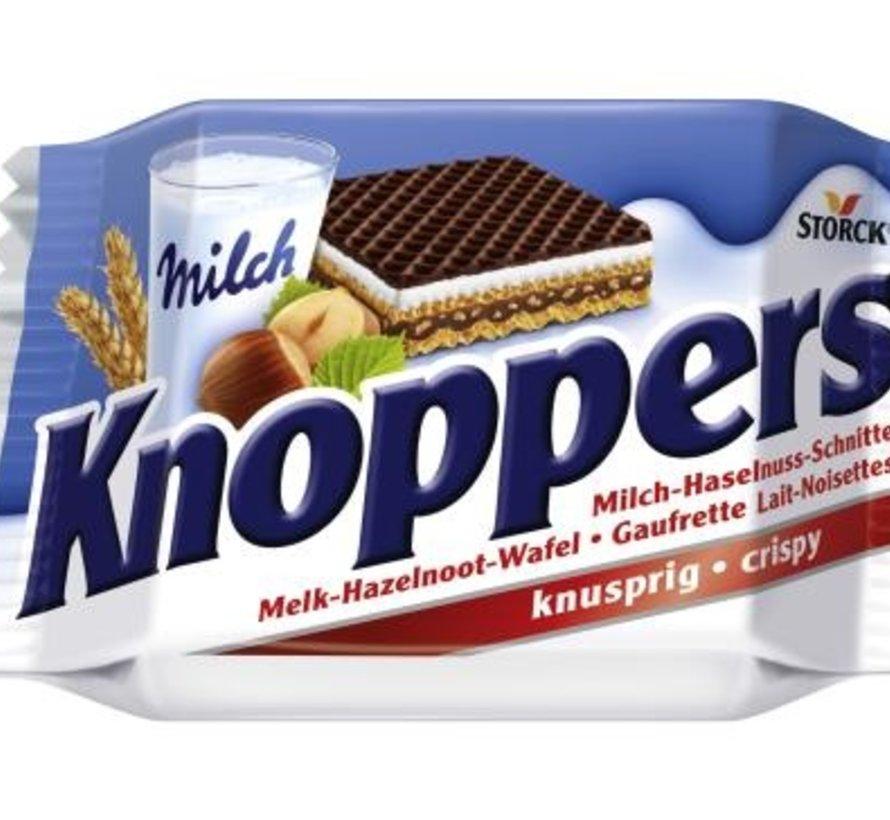 Knoppers Single 25gr -Doos 24 stuks