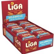 Liga Liga Milkbreak Melk/Aardbei -Doos 24 stuks
