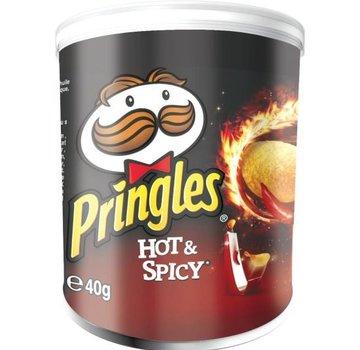Pringles Pringles Mini Hot&Spicy 40 gram -Doos 12 stuks