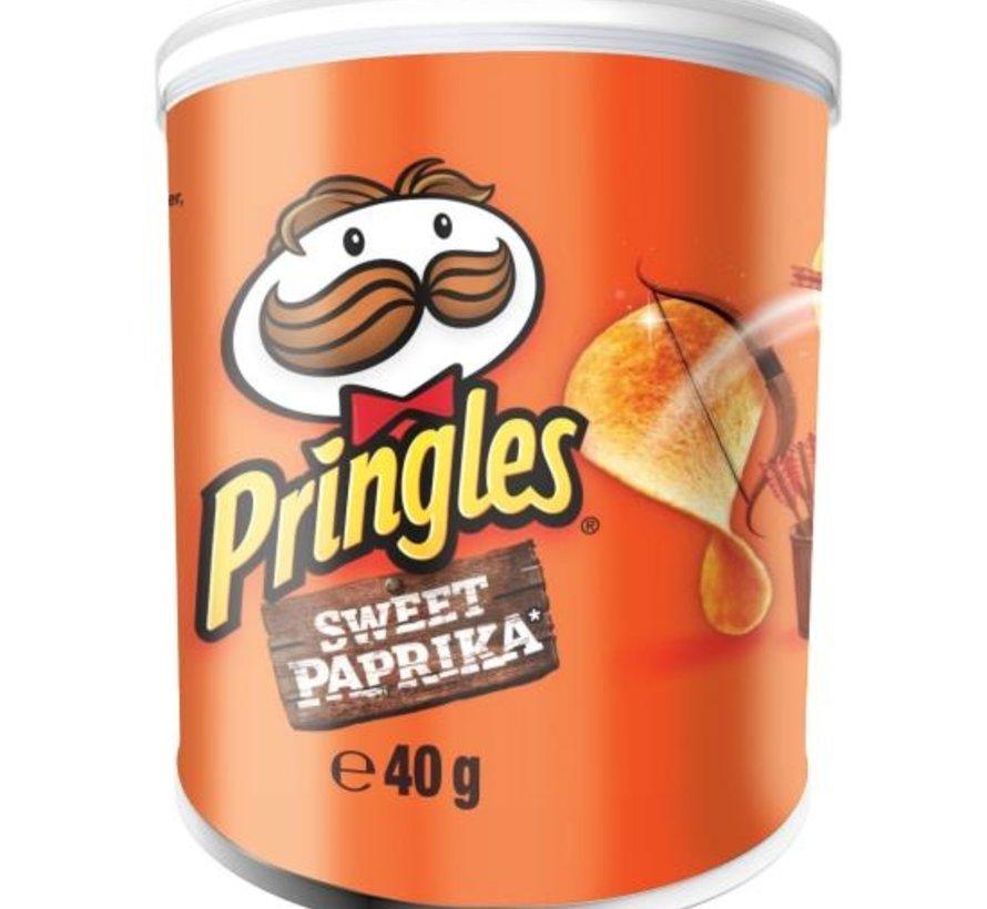 40gr Pringles Sweet Paprika -Doos 12 stuks