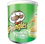 Pringles Pringles Mini Sour Cream 40 gram -Doos 12 stuks